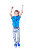 Happy little boy. Royalty Free Stock Photography