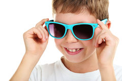 Happy little boy Royalty Free Stock Photography