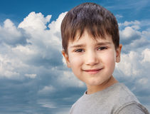 Happy little boy smiling Stock Photography