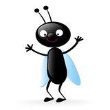 Happy little bug Royalty Free Stock Photography
