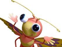 Happy Little Bugeye Bug Royalty Free Stock Photo