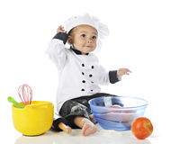Happy Little Chef Royalty Free Stock Images