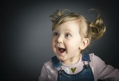 Happy little child Stock Photography