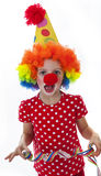 Happy little clown Stock Photography