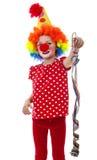 A happy little clown Stock Photo