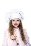 Happy little cook Stock Photos