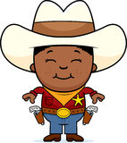 Happy Little Cowboy Royalty Free Stock Photo