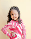 Happy little cute girl smiling Royalty Free Stock Photography