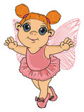 Happy little fairy Stock Image