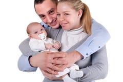 Happy little family Stock Photos