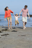 Happy Little Family Royalty Free Stock Photography