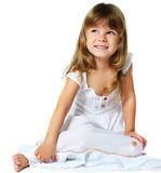 Happy little girl Stock Images