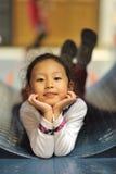 Happy little girl Stock Photos