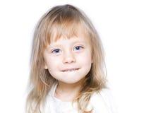 Happy Little Girl Royalty Free Stock Photo