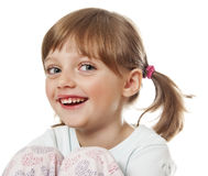 A happy little girl Stock Photos