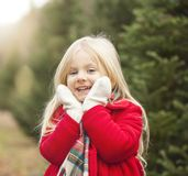 Portrait of happy girl royalty free stock images