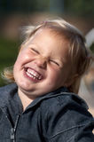 Happy little girl Royalty Free Stock Image