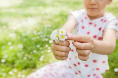 Child Nature Spring Happy Royalty Free Stock Image