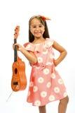 Happy little girl Stock Photography