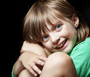 Happy little girl portrait Royalty Free Stock Image