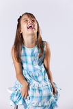 Happy little girl portrait Stock Photo