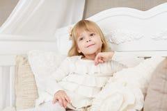 Happy little girl. Royalty Free Stock Photo