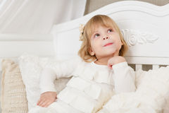 Happy little girl. Stock Photography