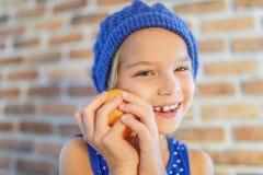 Happy little girl smile Stock Photography