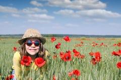 Happy little girl Stock Photo