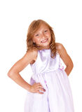 Happy little girl. Royalty Free Stock Image