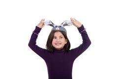 Happy little hare Stock Photos