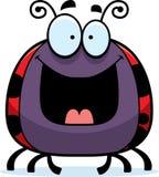 Happy Little Ladybug Stock Photo