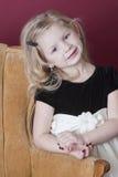 Happy little model Royalty Free Stock Photos