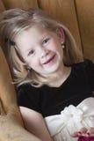 Happy little model Stock Photo