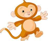 Happy little Monkey Royalty Free Stock Photography