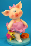 Happy little pig Royalty Free Stock Images