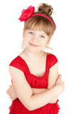 Happy Little Pretty Girl Royalty Free Stock Photography