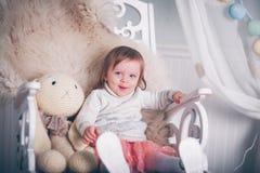 Happy little princess Stock Photos