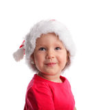 Happy little santa Royalty Free Stock Photos