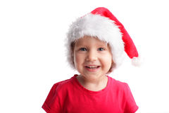 Happy little santa Stock Image