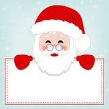 Happy Little Santa Banner Stock Photos
