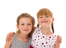 Happy little sisters Stock Photography
