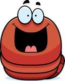 Happy Little Worm Stock Photo