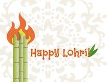 Happy lohri banner Stock Photos