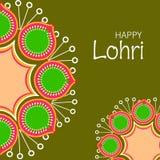 Happy Lohri Stock Photo