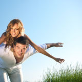 Happy in love Royalty Free Stock Photo
