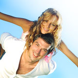 Happy in love Stock Photography