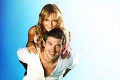 Happy in love Stock Image