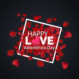 Happy Love Valentine`s Day best royalty free stock photo