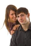Happy lovers Stock Image
